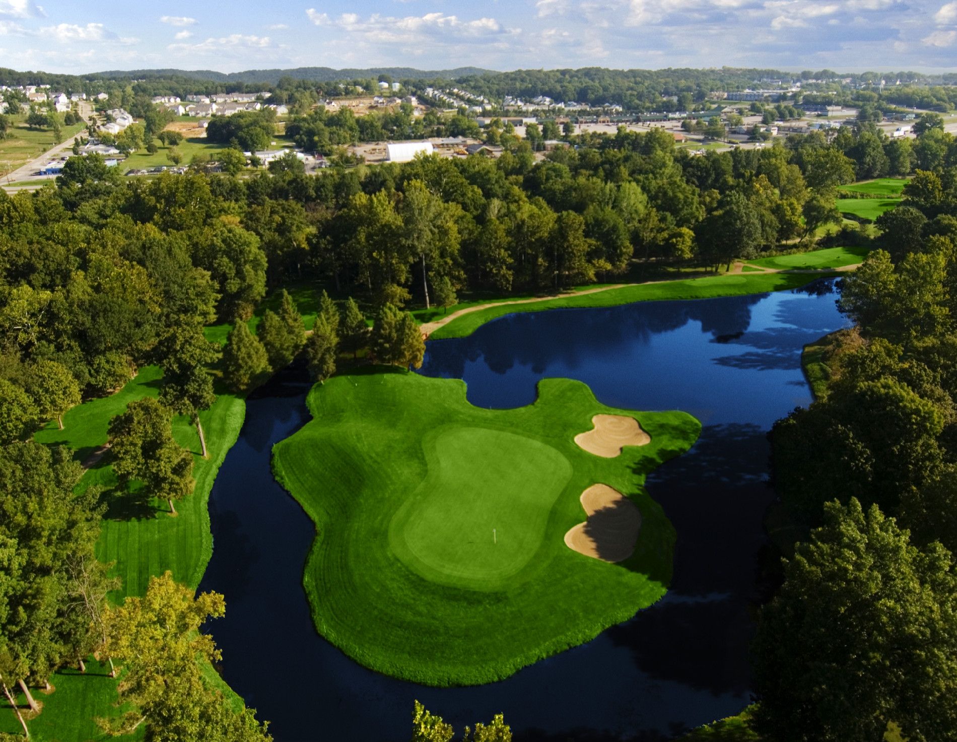 Aerial View of the Legends Golf Course