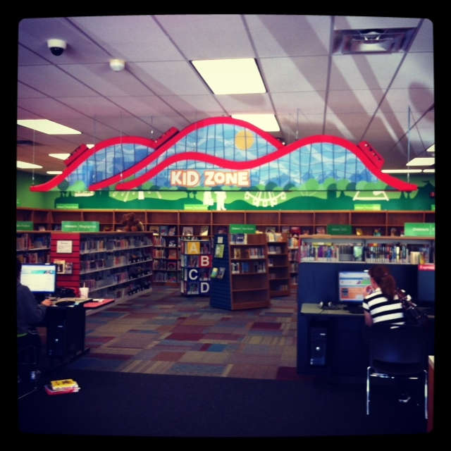 Interior of the Eureka Library