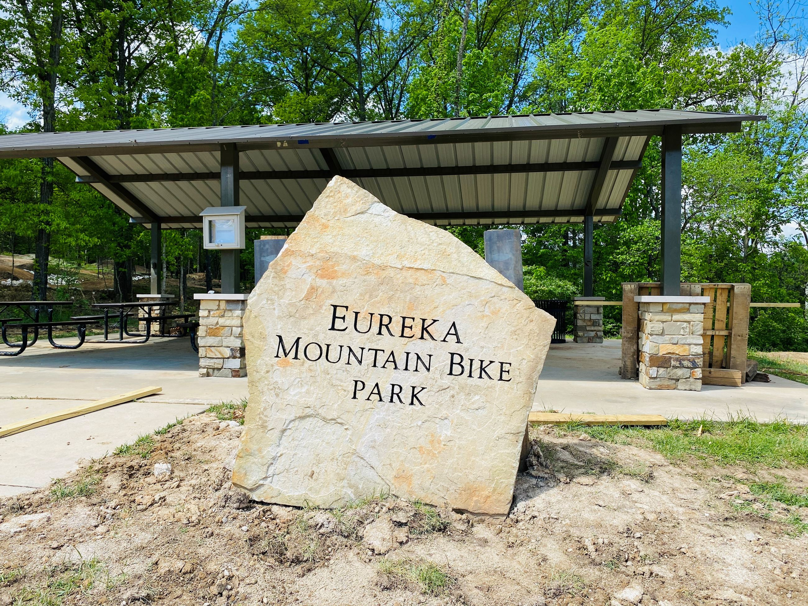 Bike Park Monument Sign